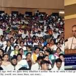 ज्ञान के साथ ही उस पर बुद्धिमत्तापूर्वक चलना और 'एक्शन' करना भी आवश्यक है - डा. जगदीश गांधी