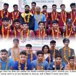 अन्तर्राष्ट्रीय फुटबाल टूर्नामेन्ट कॉनकार्ड-2019 का भव्य उद्घाटन आज देश-विदेश से पधारे बाल खिलाड़ियों का भव्य स्वागत - हरि ओम शर्मा