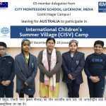 'अन्तर्राष्ट्रीय बाल शिविर' में प्रतिभाग हेतु आस्ट्रेलिया जायेगा सी.एम.एस. छात्र दल