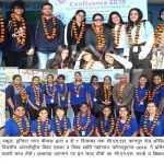युगांडा, श्रीलंका, नेपाल व देश के विभिन्न प्रान्तों से पधारी प्रतिभागी छात्र टीमों का लखनऊ में भव्य स्वागत